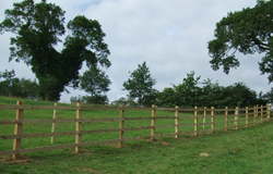 post and rail fencing; agricultural fencing - Post and Rail; Stock Fencing; Barbed Wire; Sheep Netting; Electric Tape and/or wire; Ménage and Arena Fencing; Wooden and Metal Field Gates; Electric Spring Gates; Stiles; Kissing Gates
